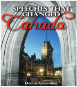 speeches that changed canada book cover
